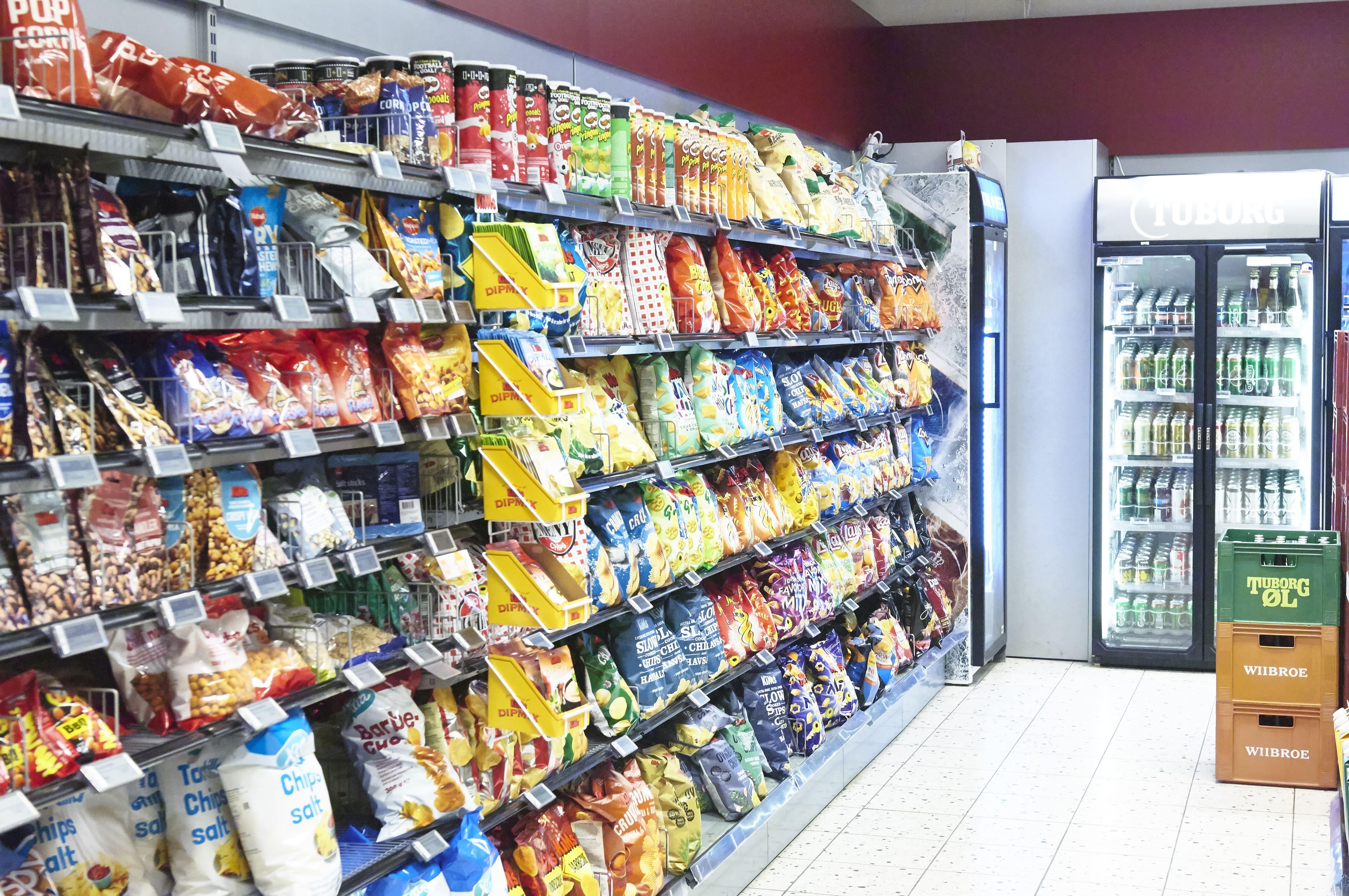 Kig ind i vores butik SuperBrugsen Hornbæk